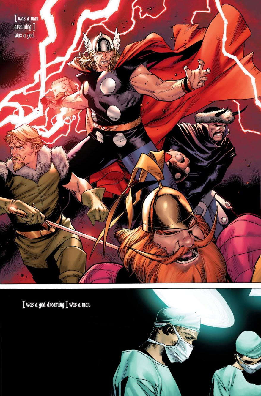Thor And Warriors 3 (Thor Vol 3 #1)