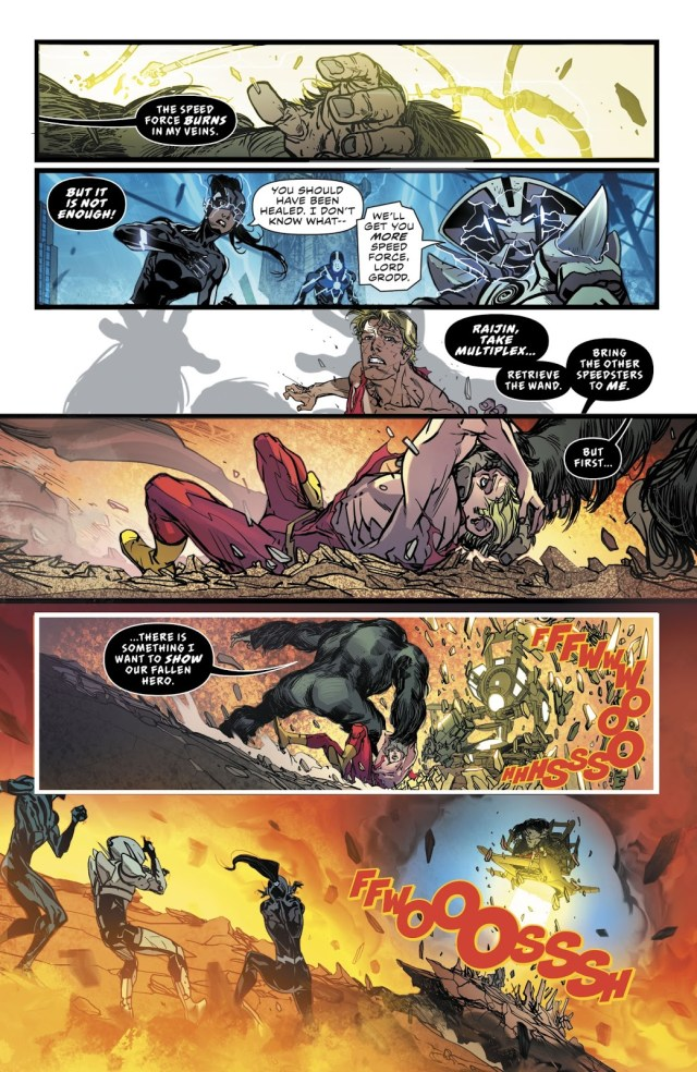 Gorilla Grodd Steals The Flash's Speed Force Connection (Rebirth)