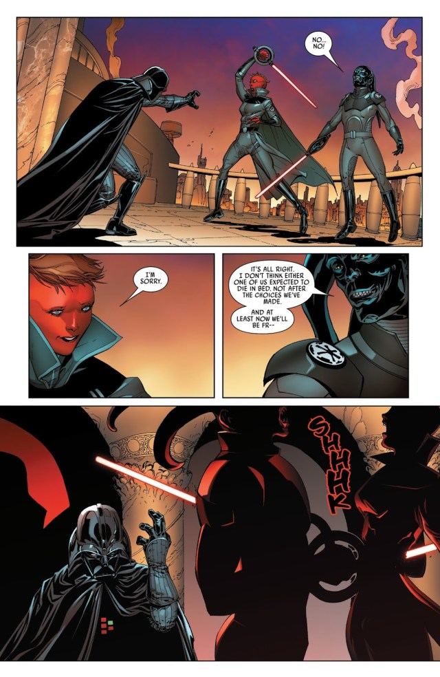 Darth Vader Kills 2 Inquisitors