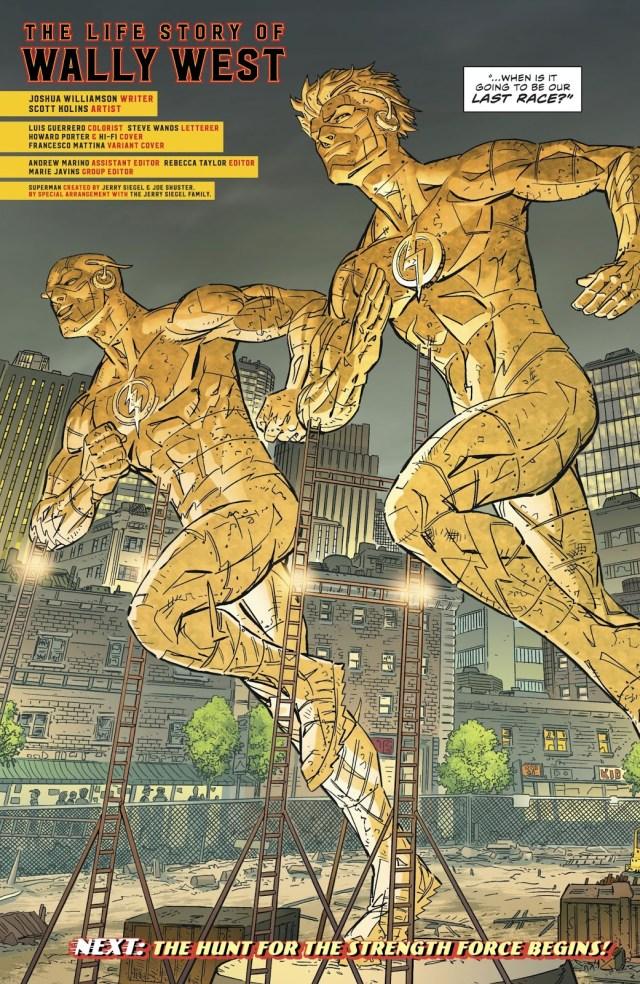 Flash Museum (The Flash Vol. 5 #51)