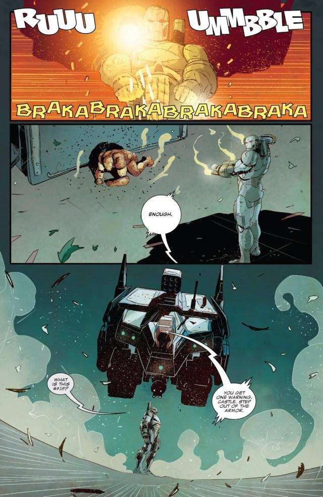 Iron Man VS War Machine Punisher