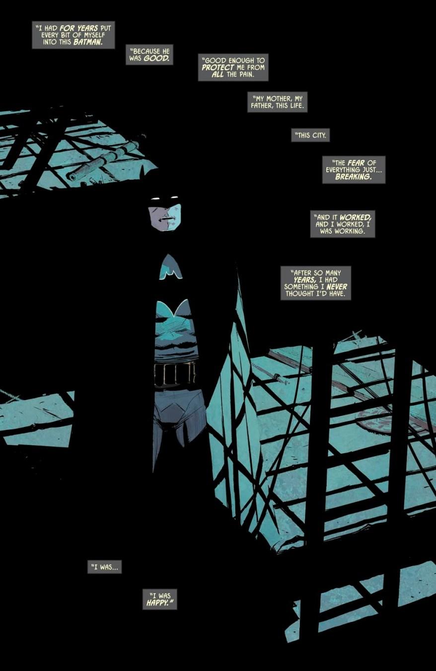 Bruce Wayne Talks About The Book Of Job