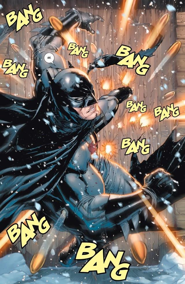 Batman VS KGBeast (Rebirth)
