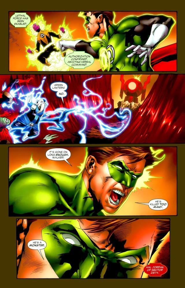 Hal Jordan Becomes A Red Lantern