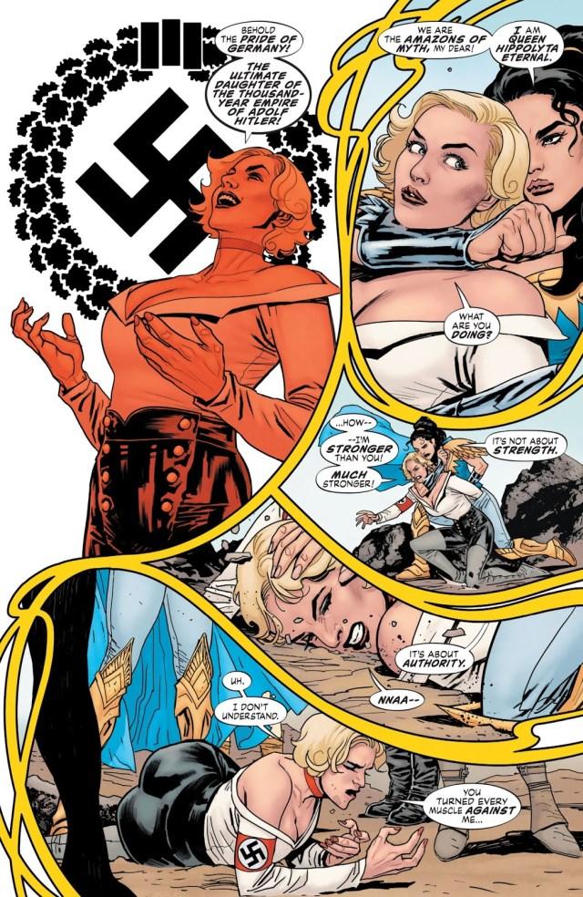 Queen Hyppolita VS Uberfraulein (Earth One)