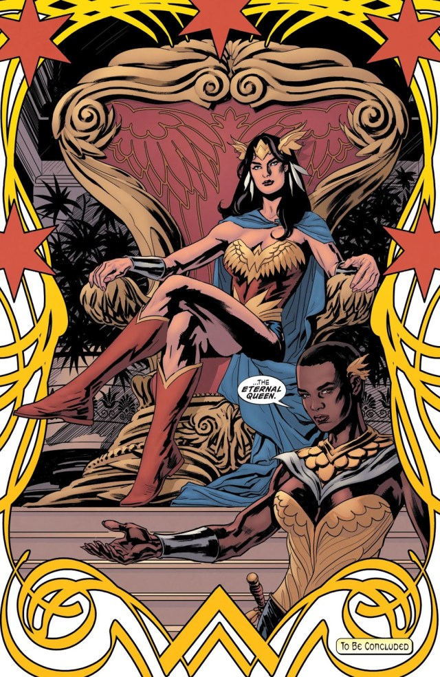 Queen Wonder Woman (Earth 1)