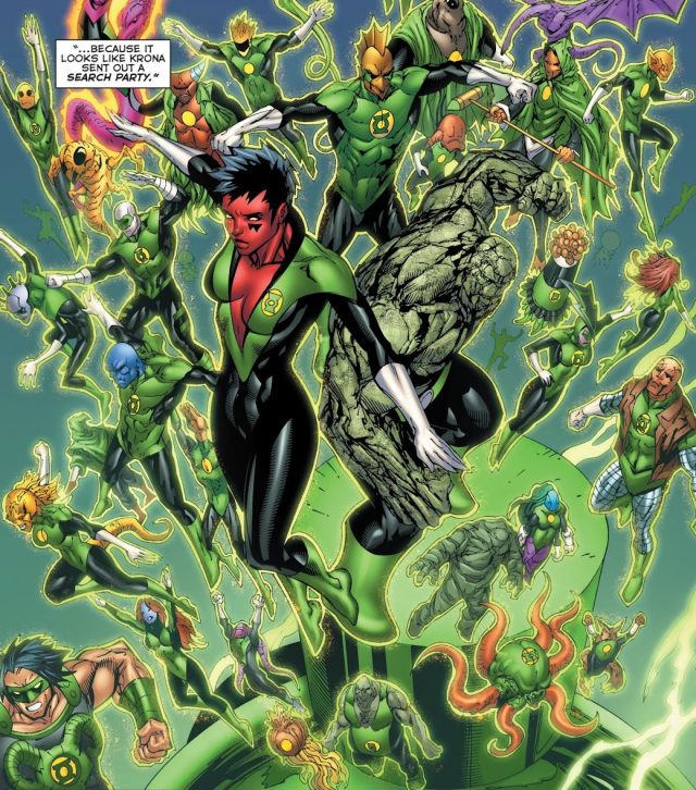 From - Green Lantern Corps Vol. 2 #58