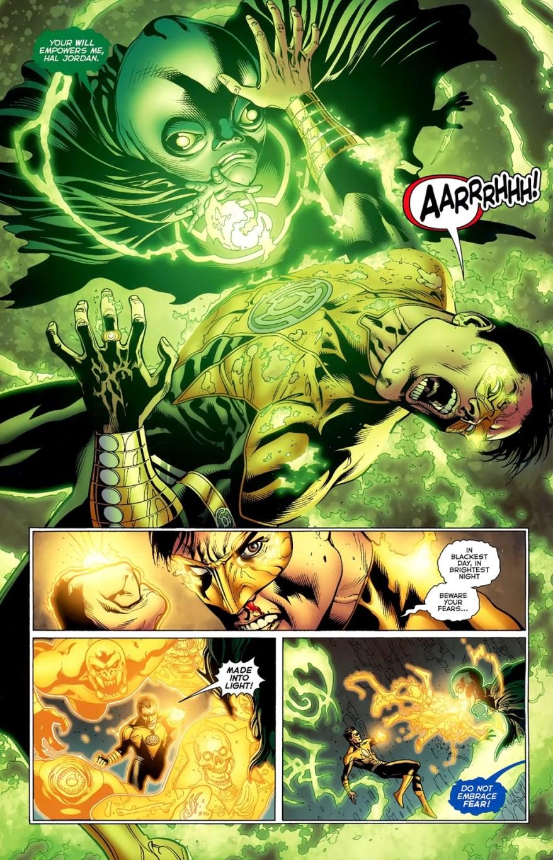 Hal Jordan And Guy Gardner VS Guardians Of The Universe