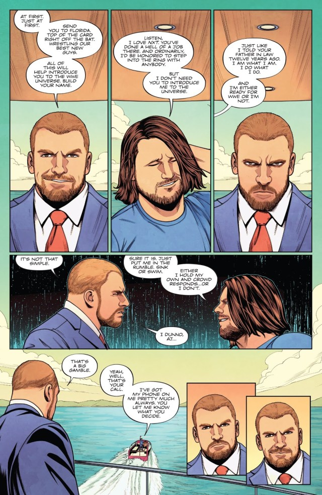 How Triple H Hired AJ Styles To WWE