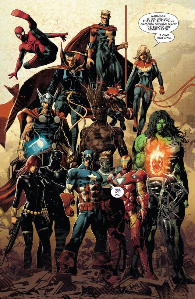 The Avengers (Infinity Wars #2)