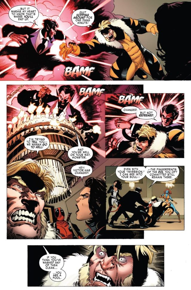 Weapon X VS Azazel