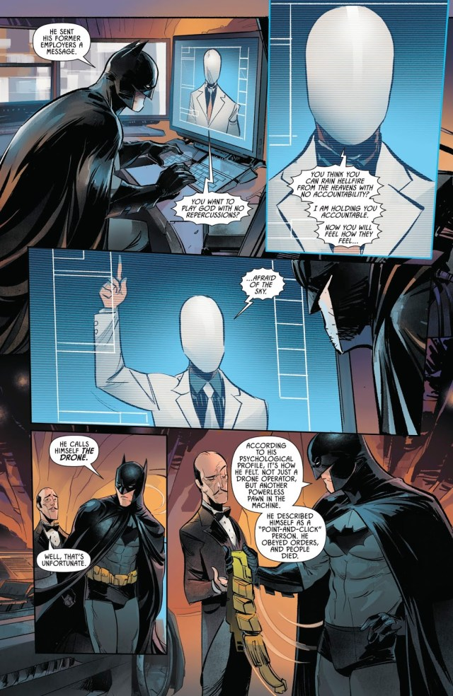 Batman Describes The Drone