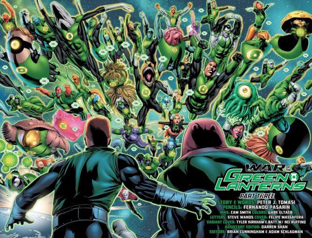 Green Lantern Corps (Emerald Warriors #8)
