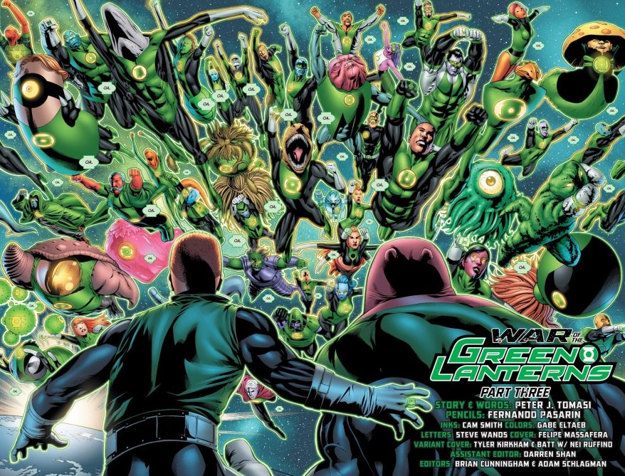 Green Lantern Corps (Emerald Warriors #8)