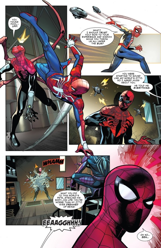 Why Superior Spider-Man Betrayed Scarlet Spider To The Inheritors