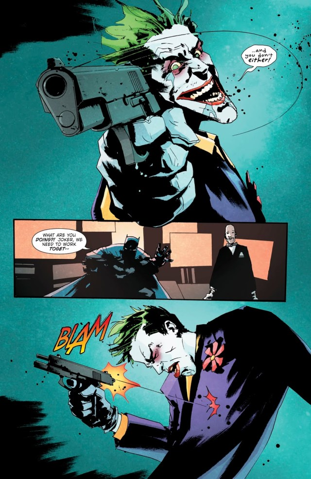 Why The Joker Killed Himself (The Batman Who Laughs #1)