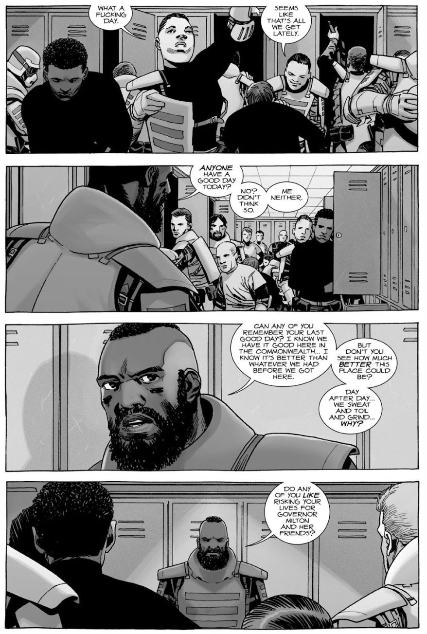 Mercer Rebels Against The Commonwealth (The Walking Dead)