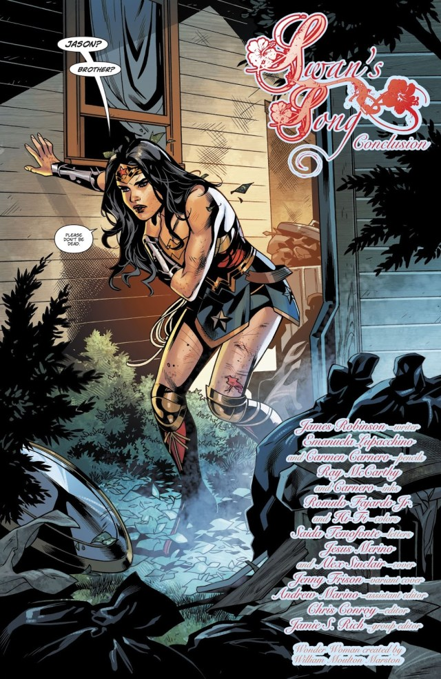 From - Wonder Woman Vol. 5 #40