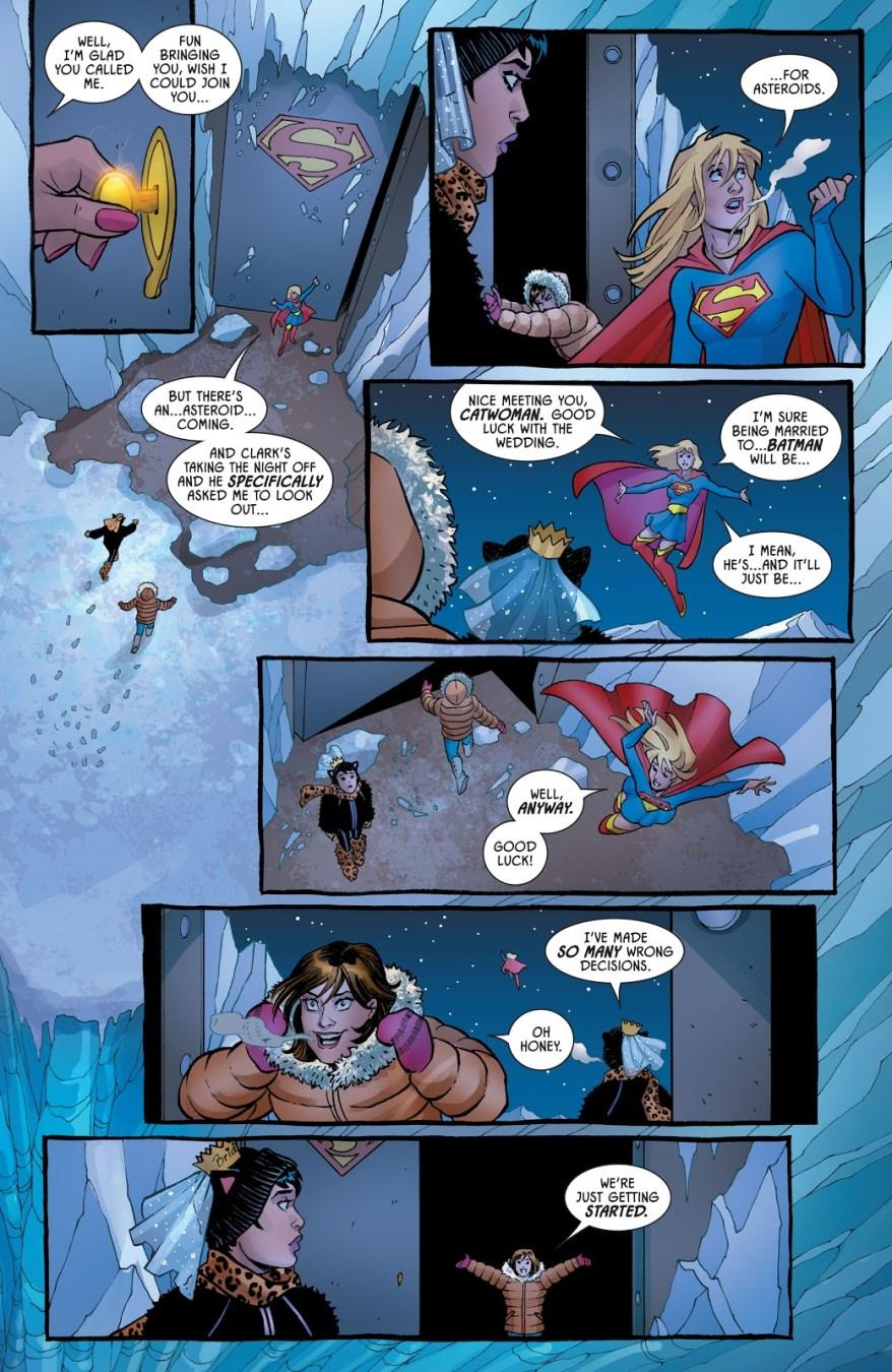 Catwoman's Batchelorette Party With Lois Lane