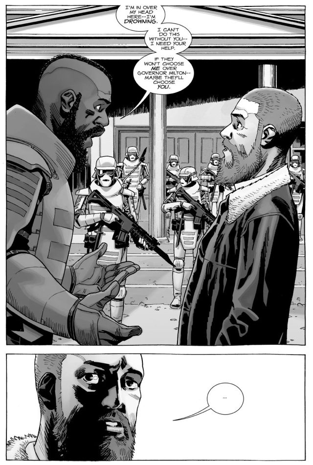 Mercer Revolts Against The Commonwealth (The Walking Dead)