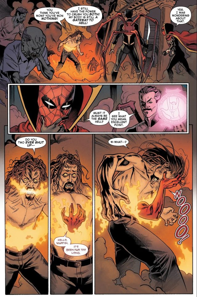 Superior Spider-Man And Doctor Strange VS Master Pandemonium