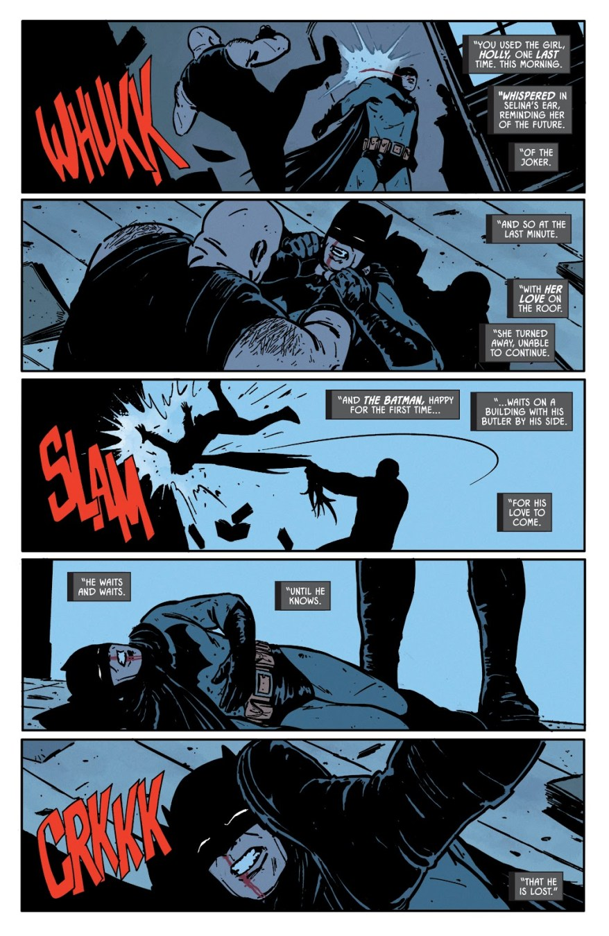Bane Breaks Batman's Back (Rebirth)