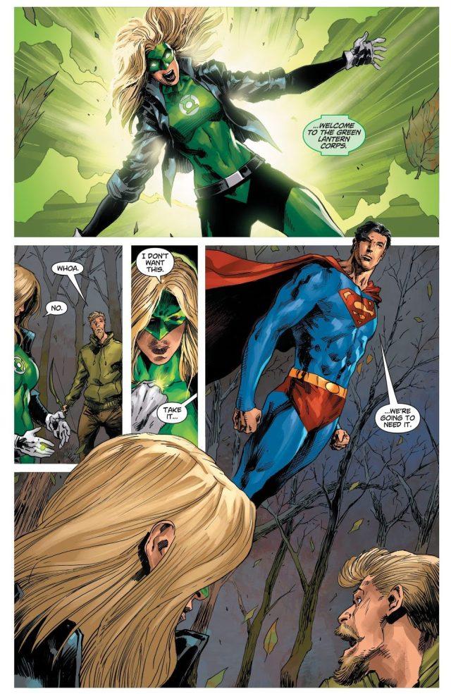 Black Canary Kills Hal Jordan (DCeased)