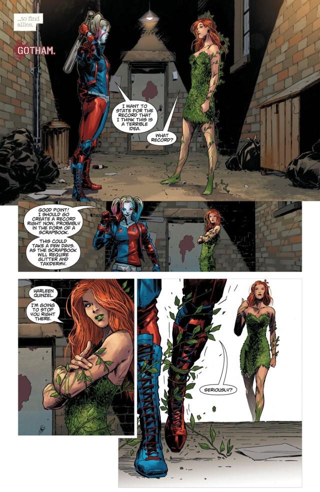 Harley Quinn Breaks Up With The Joker (DCeased)