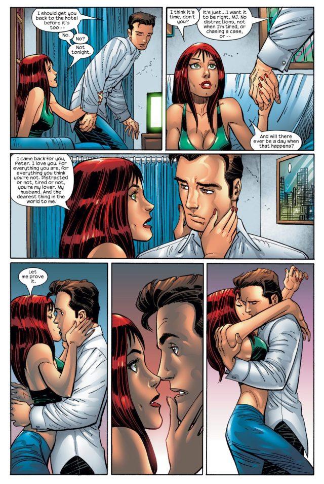Peter Parker Thanks God For Mary Jane