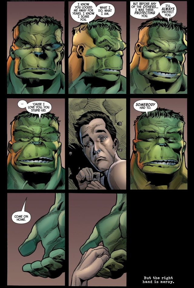 The Hulk Loves Bruce Banner