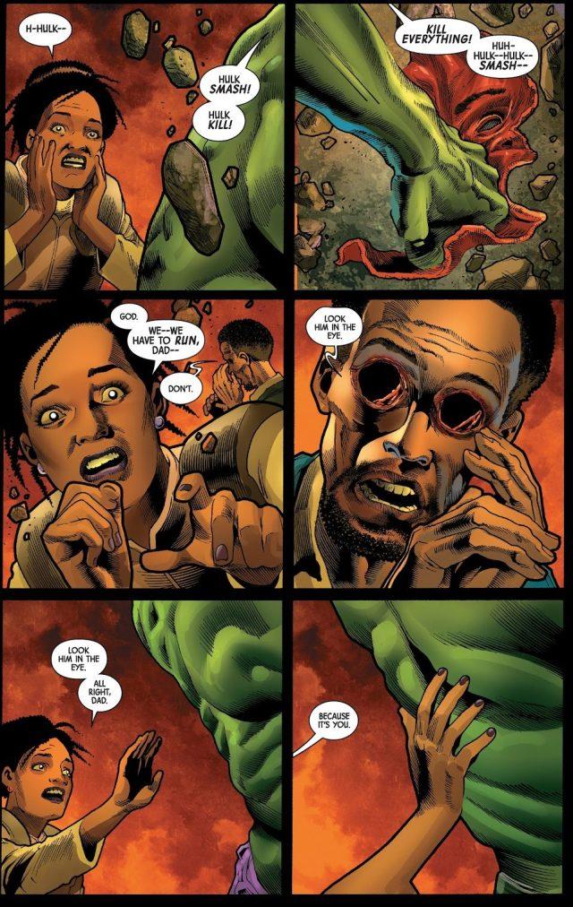 The Immortal Hulk Crying