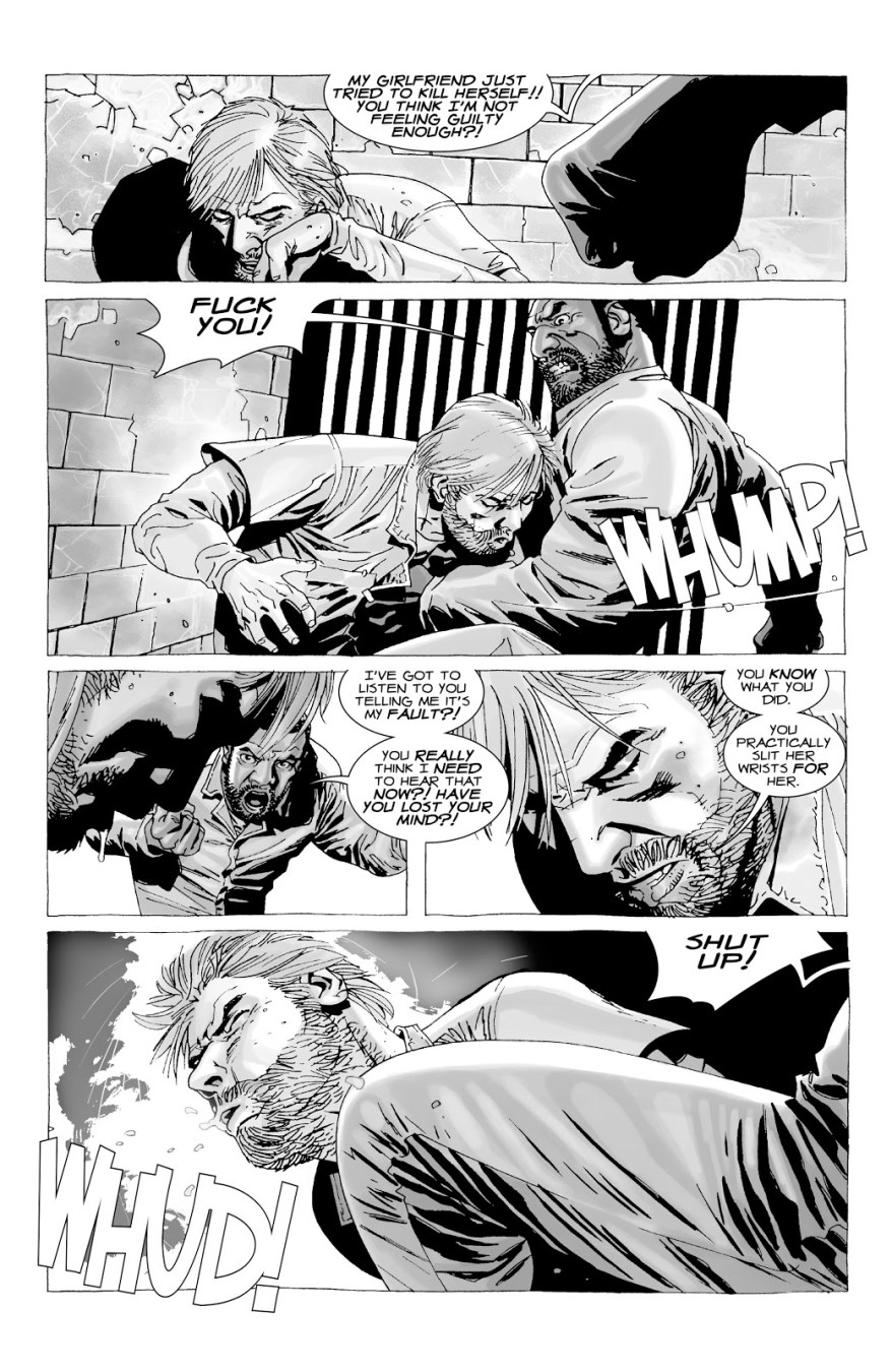 Tyreese Beats The Hell Out Of Rick Grimes (The Walking Dead)