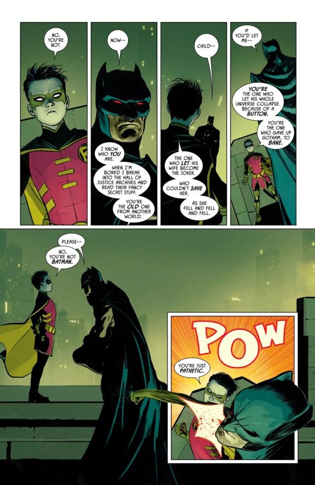 Robin VS Batman (Thomas Wayne)