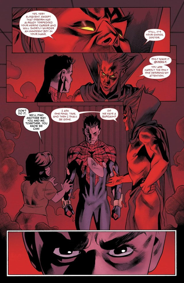 Superior Spider-Man's Deal With Mephisto