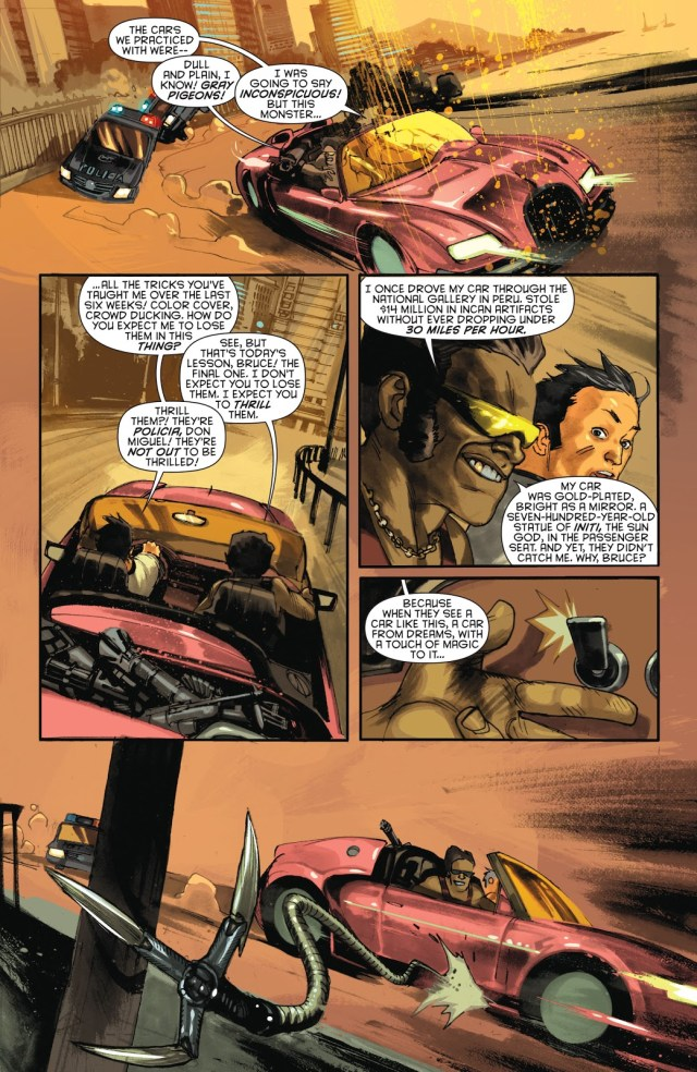 How Bruce Wayne Learned To Drive (New 52)