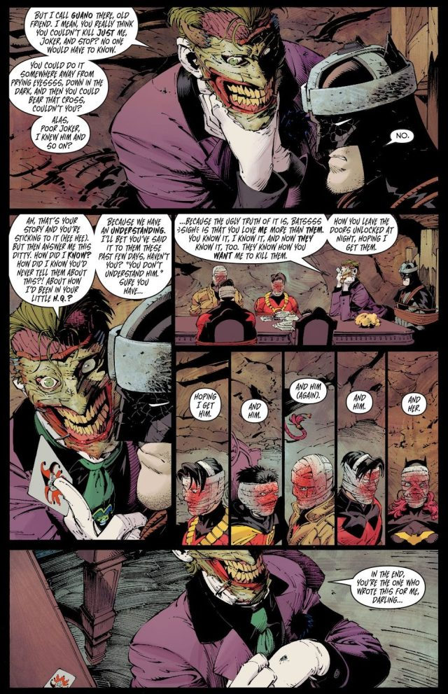 The Joker Takes The Bat Family's Faces Off