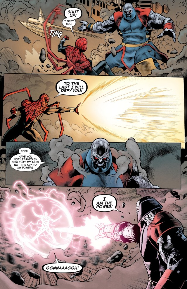Superior Spider-Man Defeats Terrax