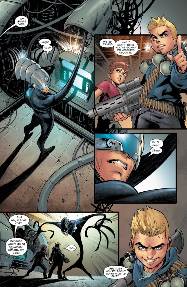 The Maker Bonds With The Hybrid Symbiote