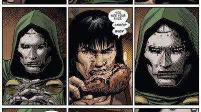 Conan The Barbarian Calls Doctor Doom Vain