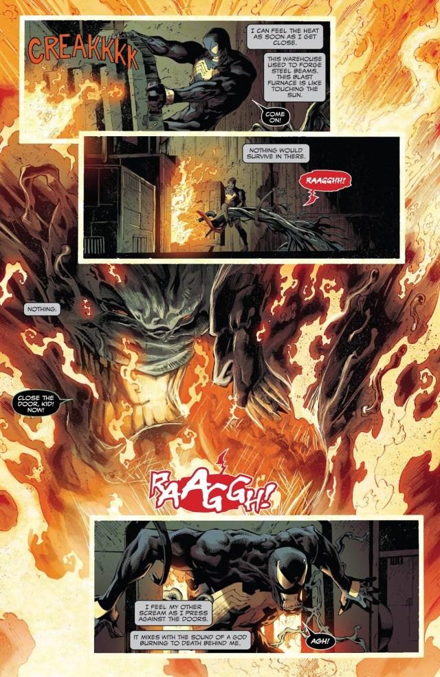 Venom Burns And Kills Knull