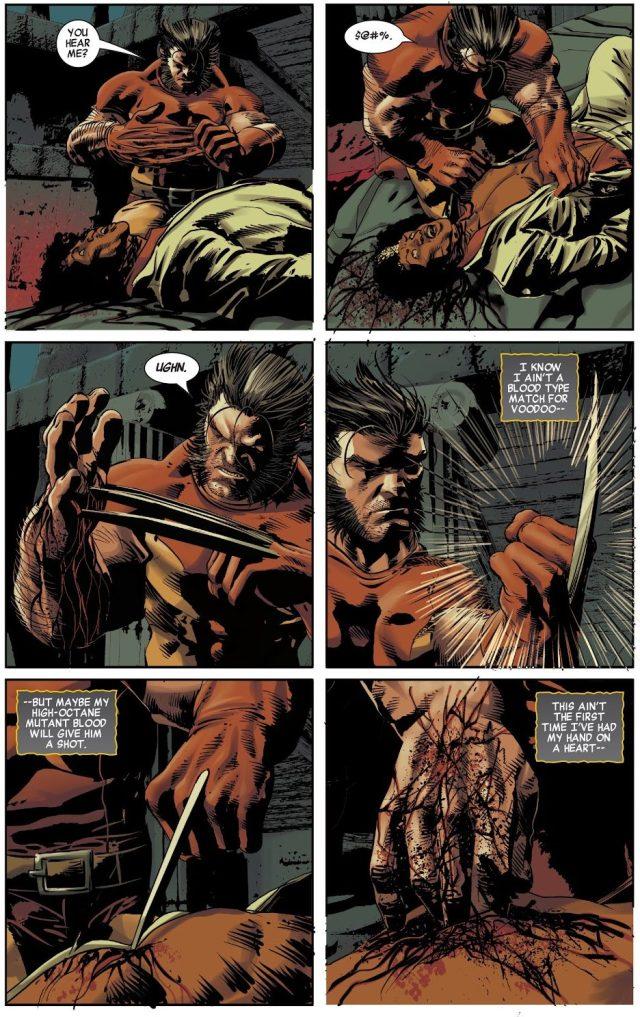 Wolverine Brings Brother Voodoo Back To Life