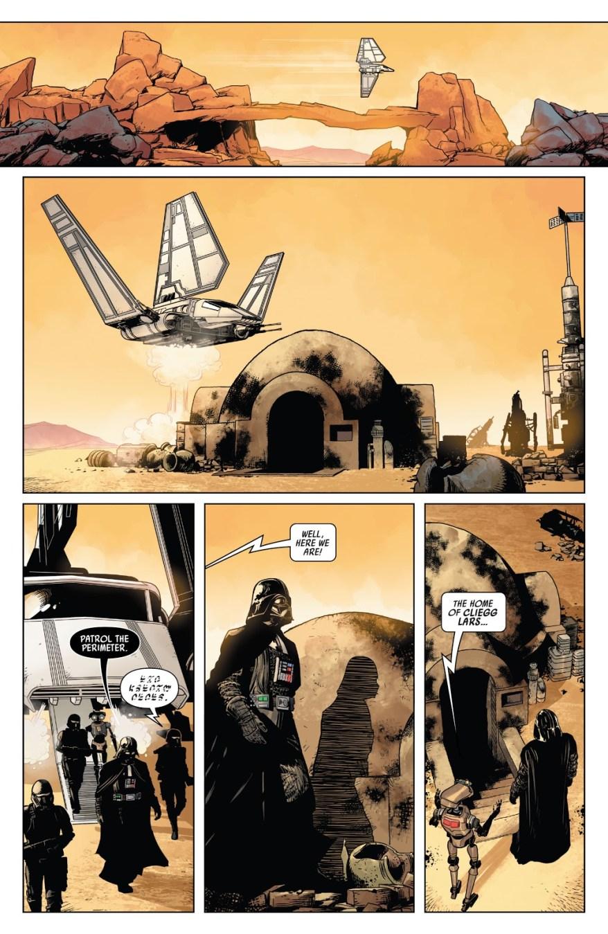 Darth Vader Returns To Tatooine