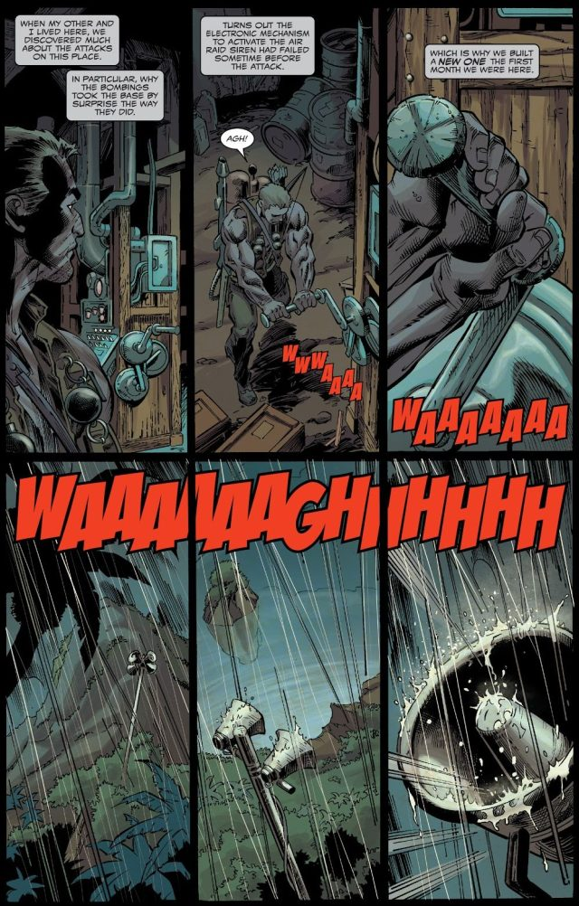 Eddie Brock Chops Off His Hand