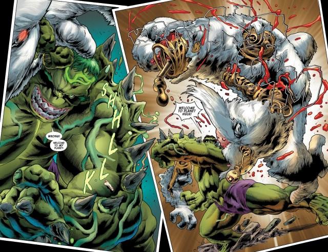 World War Hulk Kills Xemnu