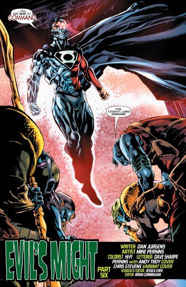 Cyborg-Superman (Green Lanterns Vol. 1 #55)