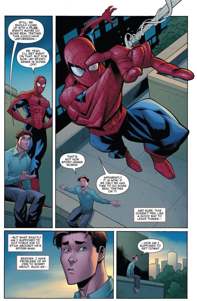 Spider-Man And Peter Parker Are Split Into Two