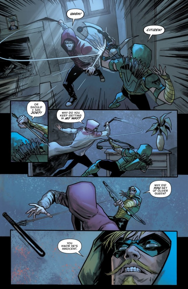 The Citizen VS Green Arrow