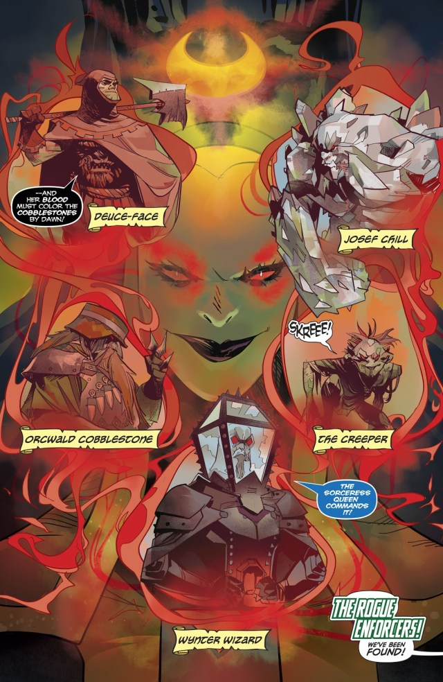 The Rogue Enforcers (Harley Quinn Vol. 3 #61)