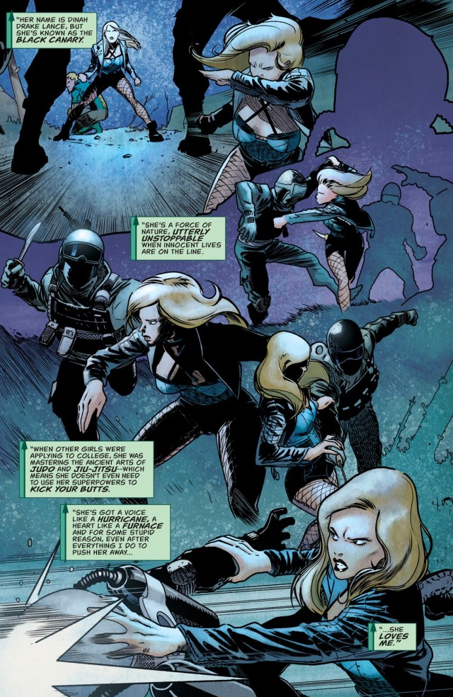 Black Canary (Green Arrow Vol. 6 #50)