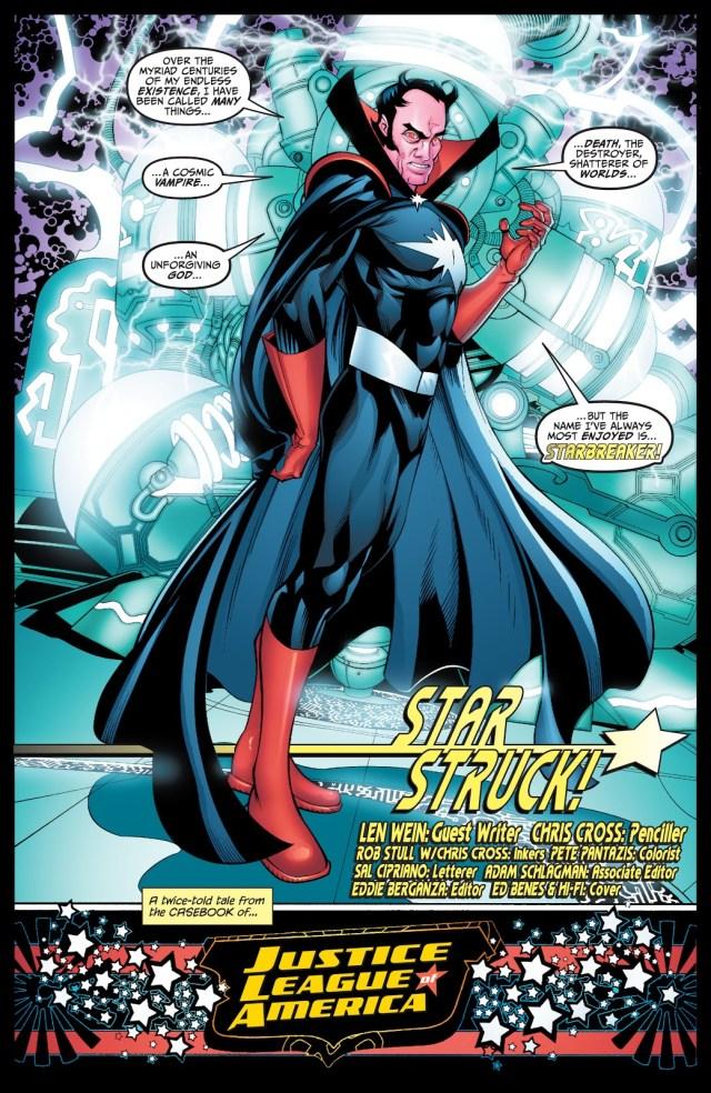 Starbreaker (Justice League of America Vol. 2 #29)
